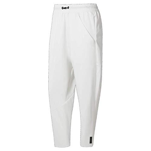 Reebok Damen Trainingshose 7/8 Länge, Damen, Hosen, Training Supply 7/8 Length Pant, weiß, Medium