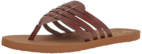 Cobian Women's Aloha Chocolate Sandals, 10