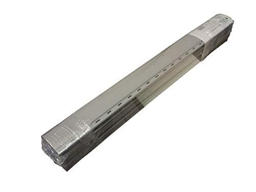 ASTE DI RICAMBIO PER TAPPARELLE IN PVC (L 123 X H 25 CM, PVC04 GRIGIO SIMIL RAL 7040)