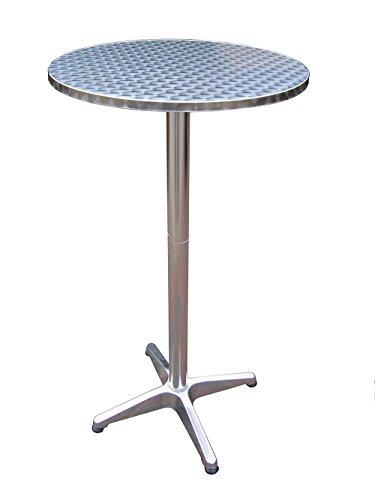 Fachhandel Plus Bistrotisch 2in1 Partytisch höhenverstellbar klappbar Stehtisch Esstisch