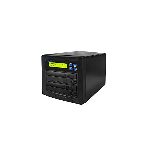 PlexCopier 24X SATA 1 to 1 CD DVD duplicator Writer Copier Tower (1 Target)