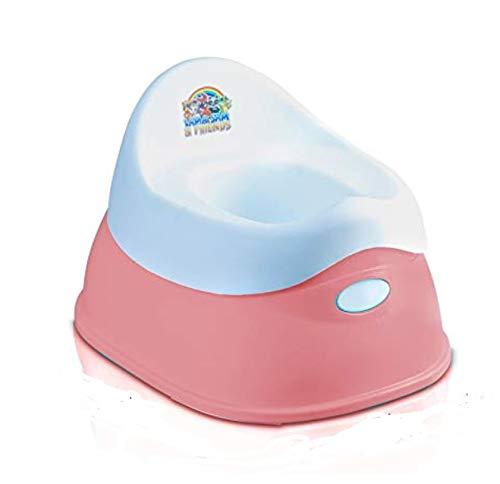Lama Sam & Friends – Orinal para bebé de 2 piezas – Orinal a partir de 18 meses hasta aprox. 3 años, función antideslizante (1 orinal rosa)