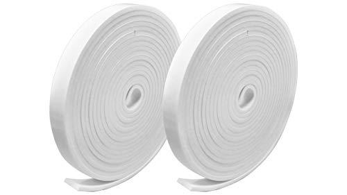 プランプ オリジナル 隙間テープ スキマッチ 白 ホワイト 厚 3 mm × 幅 15 mm × 長 2 m 4 個入 日本製 ゴムスポンジ 防水 防音 すきま 窓 玄関 引き戸