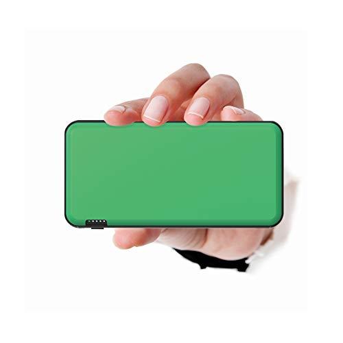 ockered Powerbank 20000mAh, Power Bank mit USB C/Micro Eingängen, 2.4A High-Speed Ausgänge Tragbar Externer Akku Kompatibel mit Handy, Phone, und Tablette (Grün)