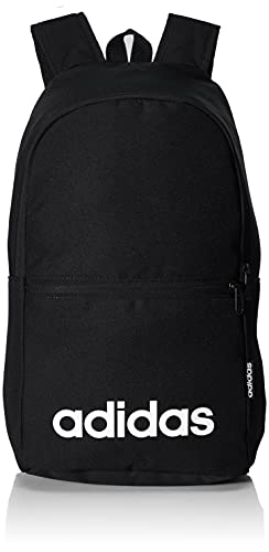 adidas Lin CLAS BP Day Sports Backpack, Unisex Adulto, Black/Black/White, NS
