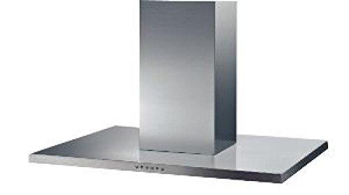 Beko BSWI 90 I Edelstahl 464 m³/h Dunstabzugshaube – Dunstabzugshaube (464 m³/h, Abluft/Umluft, 59 dB, Edelstahl, 20 W, 2 Leuchtmittel)