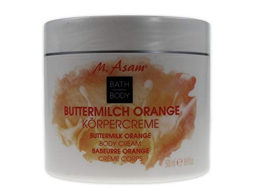 M.Asam Körpercreme Buttermilch Orange - 500ml