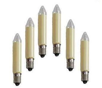 5 Stück Kleinschaftkerzen 14V,3W,E10