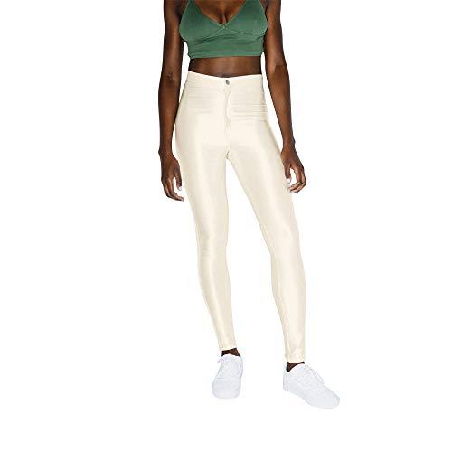 American Apparel Damen The Disco Pant Leggings, Pearl, X-Klein