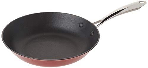 Cuisinart CIL22-26RN CastLite Non-Stick Cast Iron Fry Pan, 10' Red