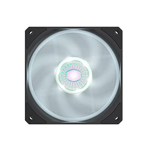 DEALBUHK Vortex 120 RGB Ventilador de Ventilador de un Solo Ventilador del Ventilador del Host 120 mm Alto Rendimiento (Color : D)