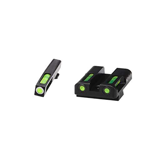 HIVIZ GLN325 Sight Systems, Litewave H3 Tritium/Litepipe, Glock 9mm.40...