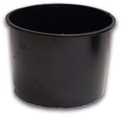 Akro Mils NSS005G2G18D025LRAJU NSS005G2 5 Gal Black Squat Pot