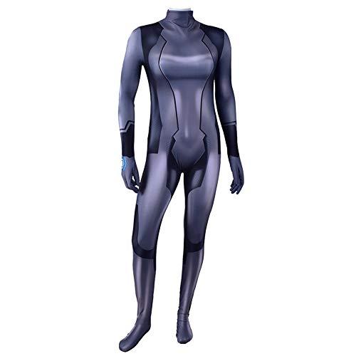 ZYZQ PS4 Juego de rol y Juego de rol para Adultos nio Halloween Body Jumpsuit superhroe Cosplay Medias Onesies 3D Lycra Spandex Zentai Etapa representacin Accesorios,Black-Men~L(165~170cm)