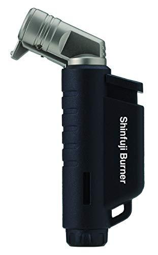 新富士バーナー(Shinfuji Burner) 小型トーチ RZ-522BK ブラック 本体: 奥行1.9cm 本体: 高さ9.0cm 本体: 幅5.0cm