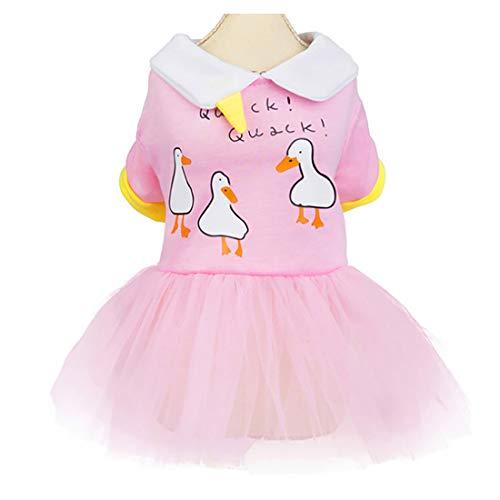 Vestido de Perro Falda de Perrito Falda de Tutú de Princesa Vestido...