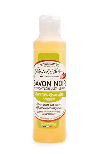 Rampal Latour SavnoIR250 ml zwarte zeep, 4 stuks