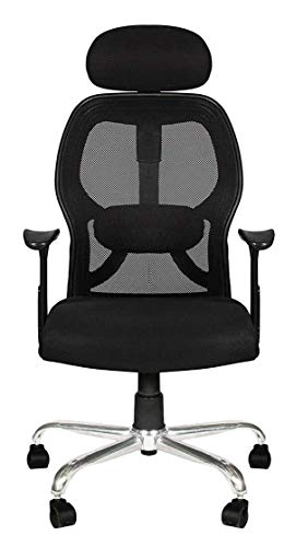 TIMBER CHEESE Ergonomic MESH Chair, Designer Chair with Metal Base and Foam NET SEAT