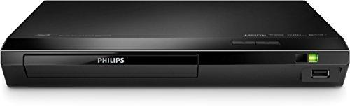 Philips BDP2590B Lettore Blu Ray Disc/Dvd, HDMI, Upscaler, 1080p, DivX Plus HD, USB 2.0, Nero