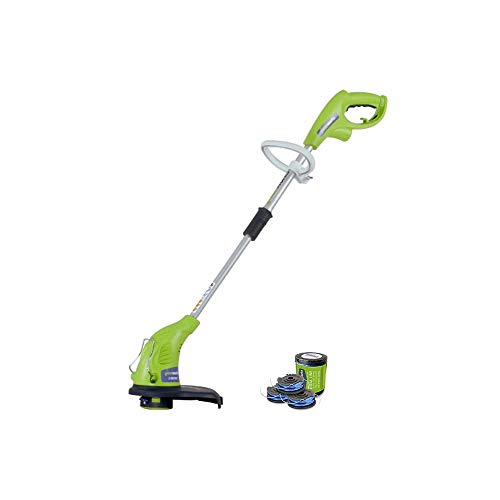 Best Price! Greenworks 4Amp 13-Inch Corded String Trimmer with Trimmer Line