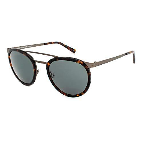 Humphrey's Damen 588120-60-2040 Sonnenbrille, Havana-Gris/Verde Oscuro, 50/18/140