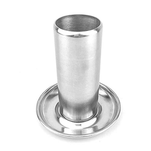 Supporto verticale per pollo in acciaio inox, ideale per cucinare all'aperto, per picnic, barbecue e campeggio Taglia libera Come da immagine