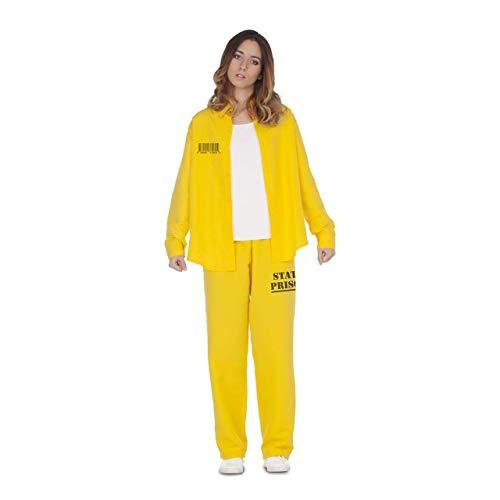 Disfraz de Presidiaria Amarilla para mujer