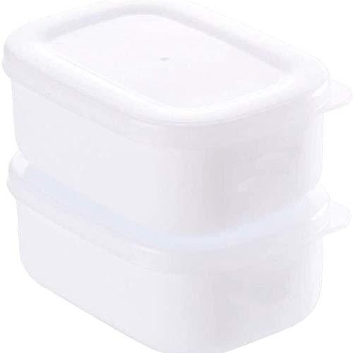 Fiambrera Lonchera de plástico;Box Lunch rectangular;para frutas y verduras;con tapa;Caja de comida;Nevera, caja de almacenaje de frutas;Caja de almuerzo;Refrigerada la caja sellada;Rectángulo de la f