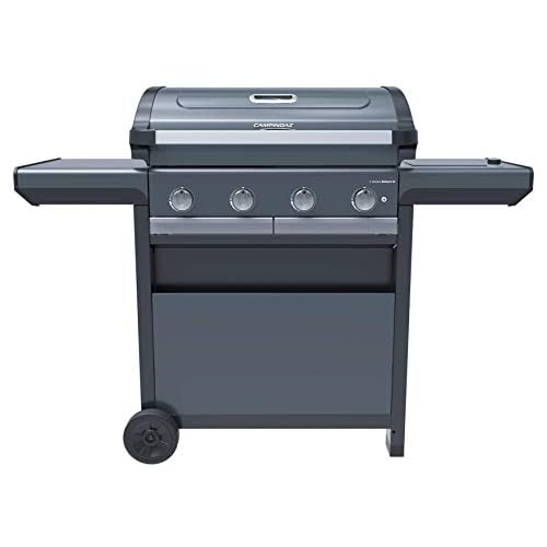 Campingaz Gas BBQ 4 Series Premium S, Barbecue Gas Grill with 4 Stainless Steel Burners 13.6 kW, 1 Side Burner, Lid…