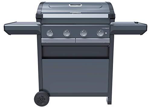 Campingaz Series Select S, BBQ a Gas, griglia Barbecue con 4 Acciaio Inox, 1 bruciatore a Lato, InstaClean Aqua, Culinary Modular System, 13.6 kW, Modello 2021, Gris