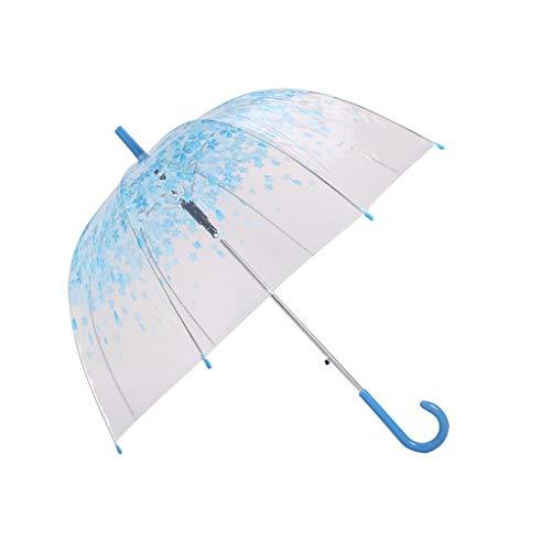 Paraplu esdoorn blad rechte schacht dikker paddestoel gebogen prinses transparante vogelkooi paraplu vouwen paraplu