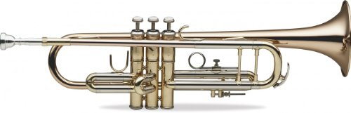 Levante LV-TR6305 professionelle Bb-Trompete mit Softcase