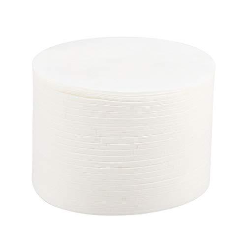 350PCS Filterpapier Kaffee Rund Kaffeefilterpapier Weißes Filterpapier für Kaffeemaschinen