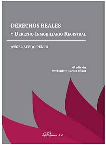 Derechos Reales y Derecho Inmobiliario Registral
