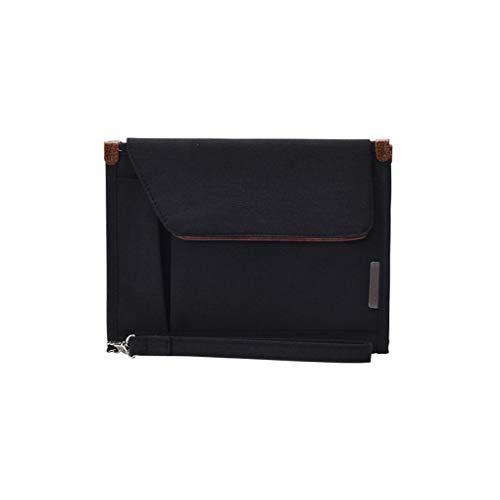 probeninmappx Mehrere Lagen übertragbare ID-Karte Kreditkarten Handtasche wasserdichte Oxford Cloth Notebook Mini Tablet Reisetasche