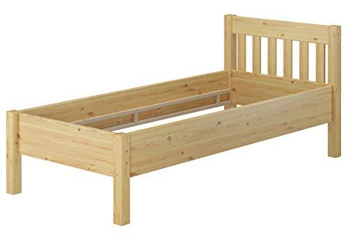 Erst-Holz® Hohes Holzbett 90x200 Bettrahmen Seniorenbett Einzelbett 60.55-09oR