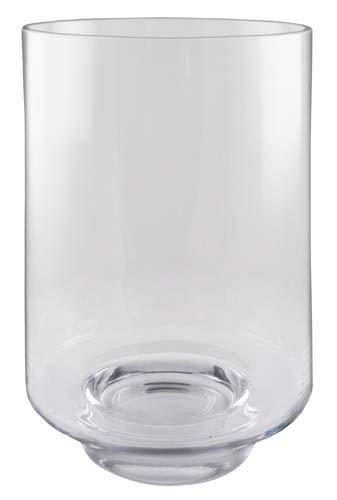 Windlicht Stumpenkerzenständer Bodenvase Handgefertigt Klarglas