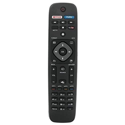 Mando a Distancia Philips PHI-958 para Smart TV YKF340001 URMT39JHG003 YKF340-001 52PFL6704D 47PFL6704D 52PFL7704D 47PFL7704D 32PFL7704D 42PFL7704D