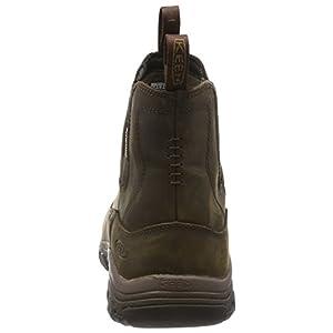 KEEN mens Anchorage Iii Wp-m Hiking Boot, Dark Earth/Mulch, 8.5 US