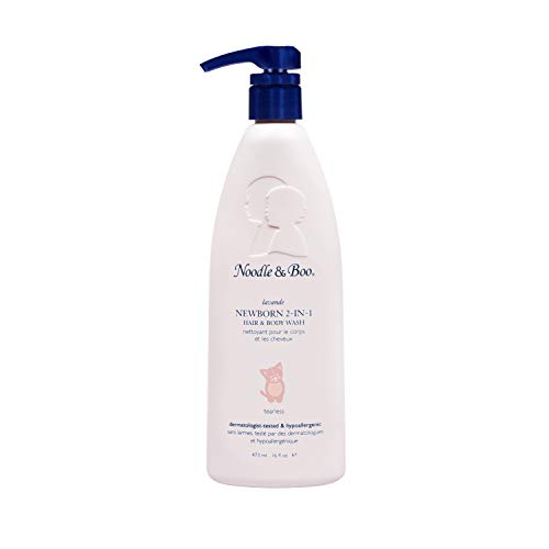 Noodle & Boo 2-in-1 Newborn Hair & Baby Body Wash for Baby, Tear Free and Hypoallergenic, 16 Oz