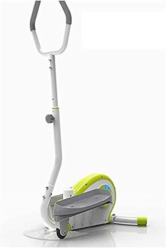 Eliptical Trainer Ellittico Stepper Home Jogging Pesi perdita di peso Attrezzatura per il fitness (Colore: verde Dimensioni: Onesize)-Taglia unica_verde