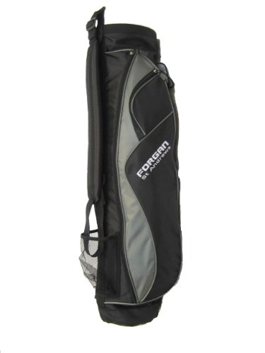Forgan Grey & Black Ultra Light Golf Carry Bag