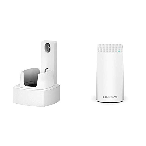 Oferta de Linksys WHA0301 - Accesorios para punto de acceso WLAN, Blanco + Linksys Velop AC1200 - Sistema WiFi Intelligent Mesh para todo el hogar, doble banda hasta 1.2 Gbps, paquete de 1 nodo hasta 115 m²