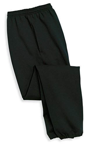 Joe's USA(tm - Mens Ultimate Sweatpants with Pockets-Black-4XL