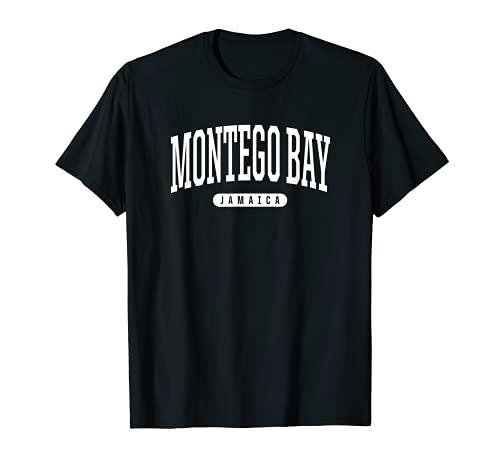 College Style Montego Bay Jamaika Souvenir Geschenk T-Shirt
