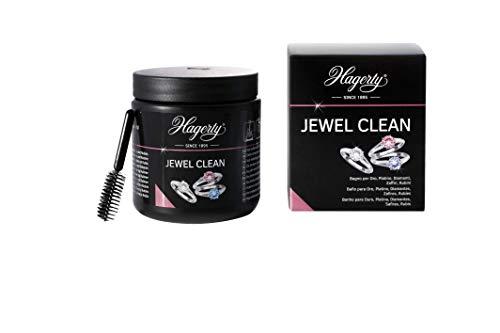 Hagerty, Jewel Clean - Limpieza Por Inmersión De Joyas De Oro, Platino Y Piedras Preciosas: Diamante, Zafiro Y Rubí - Brillante En 2 Minutos, 170 Mililitro