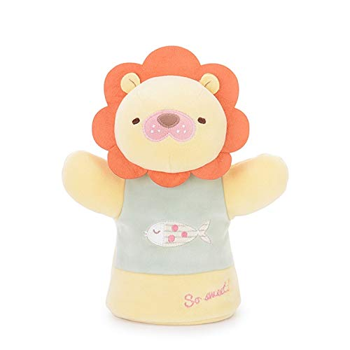 YUNCHENG Gefüllte spielzeug für kinder plüppel spielzeug reizend kaninchen panda lion kind hand puppet handschuh puppe besänftige puppe erzählen einer geschichte mädchen spielzeug geschenk weihnachten