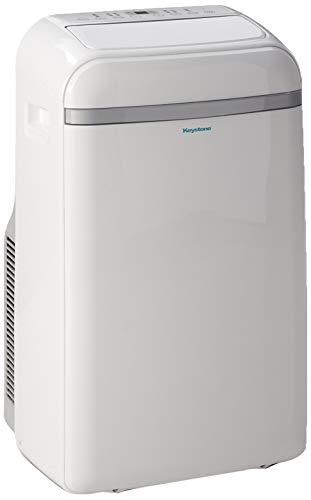 Keystone KSTAP14B 115V Portable Air Conditioner with 'Follow Me' LCD Remote Control for Rooms up to 400-Sq. Ft.