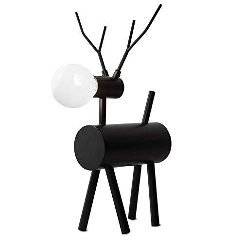 Tischlampe, Nachttisch Minimalist Stoff Schreibtischlampe, American Style Stehleuchte Creative Eisen Vertikale Tischlampe Retro Rustikal European - Style Stehlampe Sofa Lampe XYJGWSTD