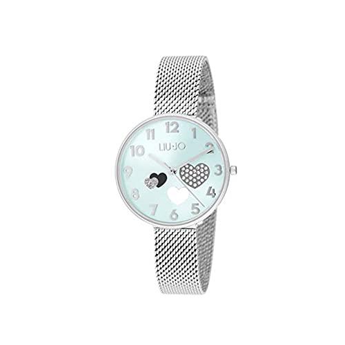 Reloj de mujer Complicity Capsule Corazón Celeste Liu Jo Luxury